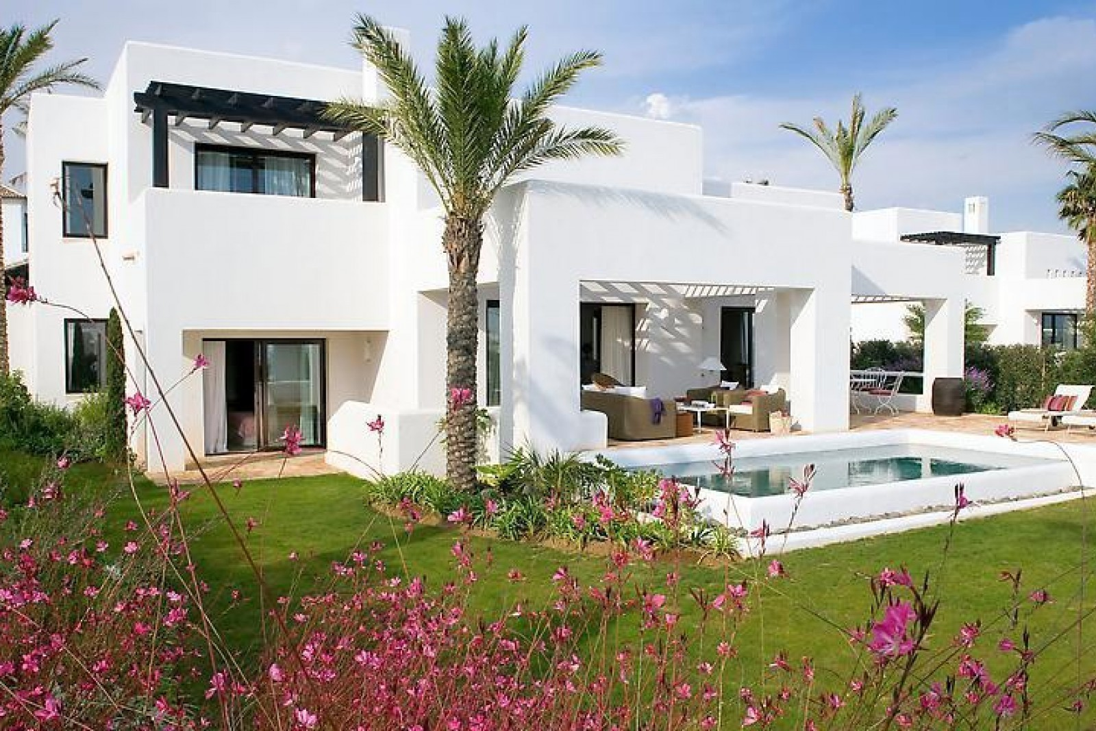 2 New Villas Front Line Golf with Panoramic Sea Views