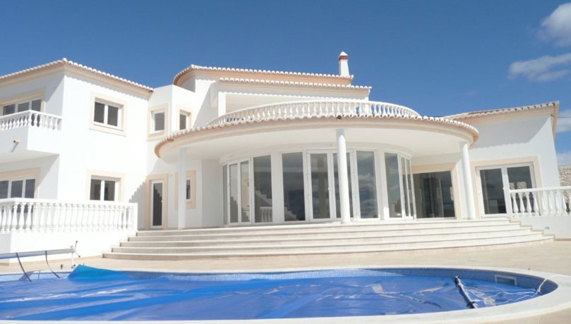 Newly completed four bedroom villa with private pool, sea and mountain views